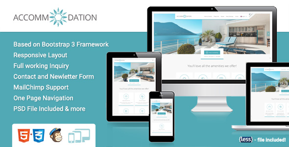 Accommodation Landingpage